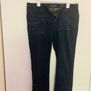 Great ladies spanx wide leg jeans